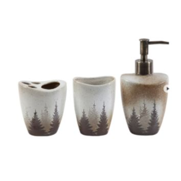 Cowgirl Kim Clearwater Pines Bath Accessories