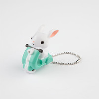 Gama Go Scooter Bunny Light-Up Led Keychain White Combo One Size For Men 23896916701