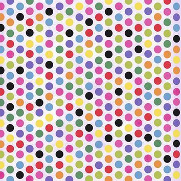 Rainbow Polka Dots Photo Background / 9890