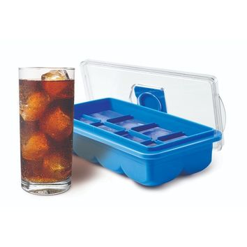 Set of 2 Jumbo No Spill Ice Cube Trays