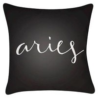 What's your Sign - Aries Throw Pillow - Surya : Target