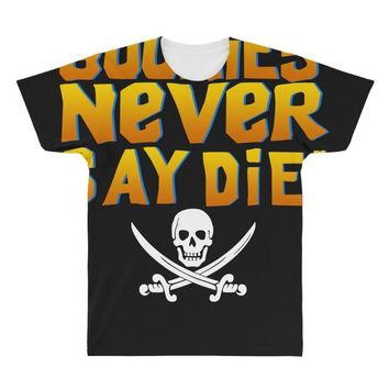 The Goonies Never Say Die All Over Men's T-shirt