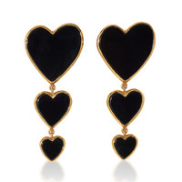 Triple Heart Earring | Moda Operandi