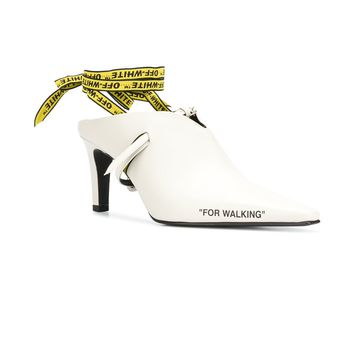 """For Walking"" Slip-On Mules by OFF-WHITE"