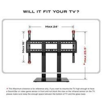 ESBONT Table Top Tv Stand 2 Hght