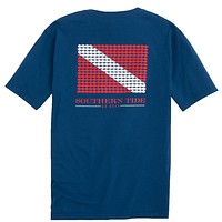 Go Deep T-Shirt in Blue Lake by Southern Tide - FINAL SALE