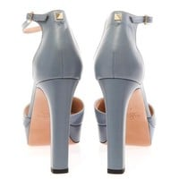 Cult leather pumps