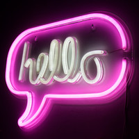 Hello Neon Light | FIREBOX®