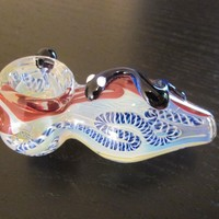 beautiful glass smoking bowl, pipe and free gift all day long for you