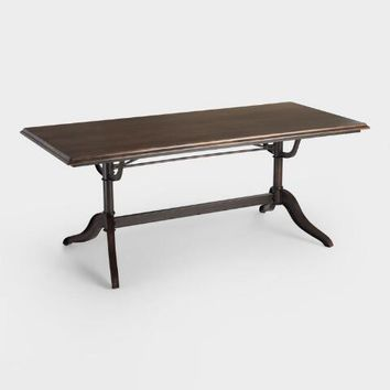 Wood and Metal Caylee Dining Table
