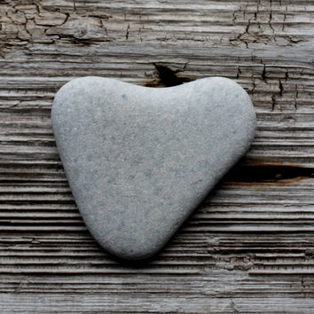 Large Sea Stone Heart Rock Heart Beach Heart