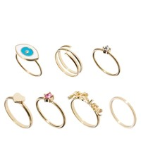 ASOS Pretty Finger Ring Pack