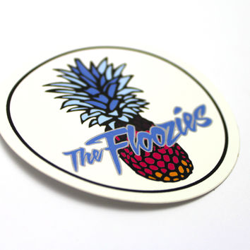 The Official Floozies Pineapple Sticker