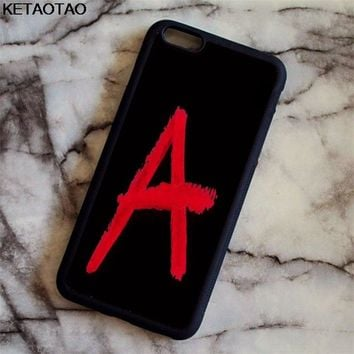 KETAOTAO TV Series Pretty Little Liars Phone Cases for iPhone 4S 5C 5S 6 6S 7 8 Plus X for Samsung Case Soft TPU Rubber Silicone