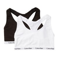 Calvin Klein | Scoop Neck Racerback Bralette - Pack of 2 | Nordstrom Rack