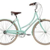 Papillionaire Sommer 3 Speed Vintage City Bike, Sea Green, 19-Inch/One Size