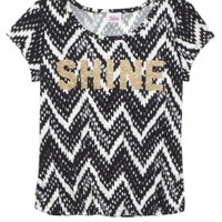 SHORT SLEEVE PRINTED TEE | GIRLS TOPS CLOTHES | SHOP JUSTICE