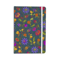 "Laura Nicholson ""Flora Exotica"" Teal Floral Everything Notebook"