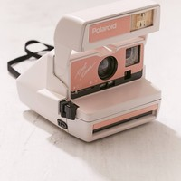 Refurbished Peach Polaroid Camera