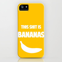 this shit is bananas iPhone Case by red.lime art&design