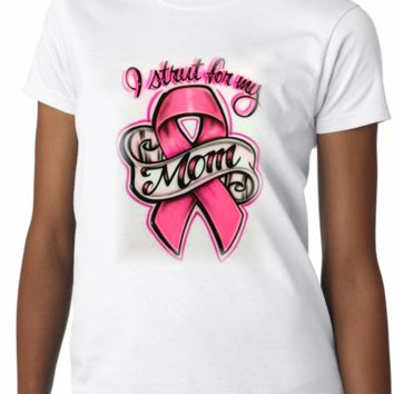 Airbrushed Cancer Walk Shirt