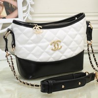 CHANEL Women Shopping Chain Shoulder Bag Satchel Crossbody