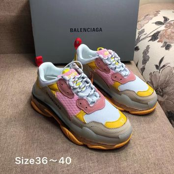 Fashion Balenciaga Triple-S Sneaker Casual Shoes Clunky Sneakers