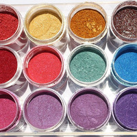 Pick 3 Hair Pigments - Buy Two, Get One Free - Temporary Hair Color - Hair Chalk Alternative - Colored Sparkle
