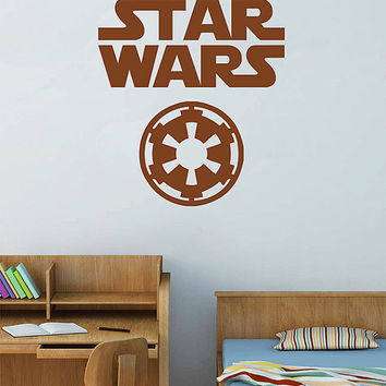 kik2721 Wall Decal Sticker STAR WARS Galactic Empire Living children's room
