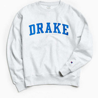 Champion Drake University Reverse Weave Crew Neck Sweatshirt | Urban Outfitters