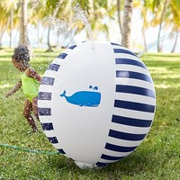 Whale Inflatable Sprinkler Ball | Pottery Barn Kids
