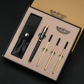 Writing  Pen Gift Set with 3pcs Refills