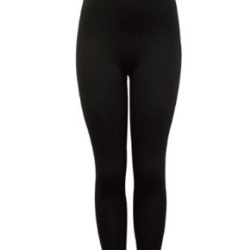 Fashionista Polyester Spandex Footless Legging