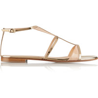 Gianvito Rossi - Two-tone patent-leather sandals