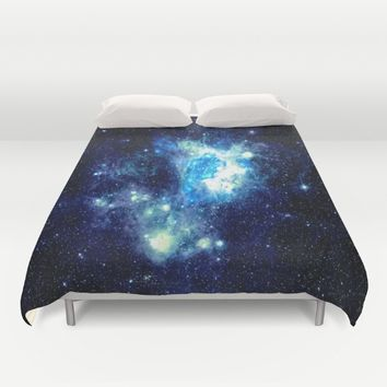 NEbula. Duvet Cover by 2sweet4words Designs
