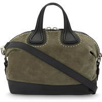 GIVENCHY Nightingale medium suede shoulder bag
