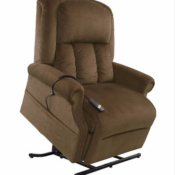 Mega Motion 3 Position Power Lift Chair Recliner with 500 lb Weight Limit NM-7001