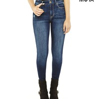 Aeropostale  High-Rise Dark Wash Jegging
