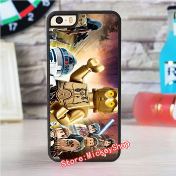 lego star wars 3 fashion case for iphone 4 4s 5 5s SE 5c for 6 & 6 plus 6S & 6S plus 7 7 plus #WD372