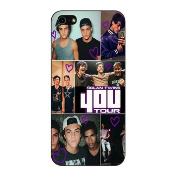Dolan Twins 4Ou Tour iPhone 5/5S/SE Case