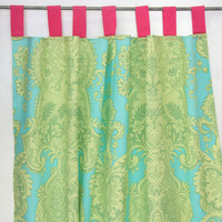 Pipers Paisley Curtain Panels