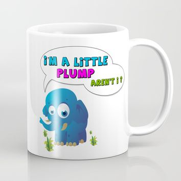 Plump Elephant Mug by FoX ArT