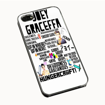 Collage Joey Graceffa iPhone 4(S) 5(S) 5C Cases