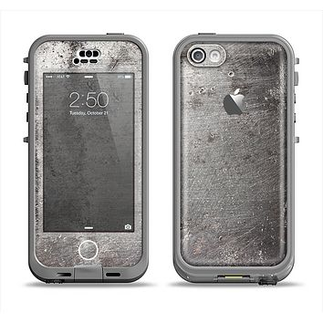 The Grunge Gray Surface Apple iPhone 5c LifeProof Nuud Case Skin Set