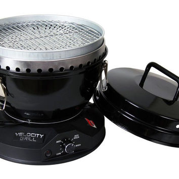 The Velocity Grill - The Original Lightweight & Blazing Hot Portable Tabletop...