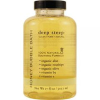 Deep Steep Honeydew-Spearmint Organic Honey Bubble Bath 17.5 oz