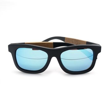 BOBO BIRD Bamboo Sunglasses Men Women Polarized Retro Beach Sun Glasses with Wooden Box 2017 Drop Shipping C-BG021