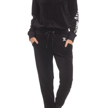 Juicy Couture Juicy Mania Velour Track Jumpsuit | Nordstrom
