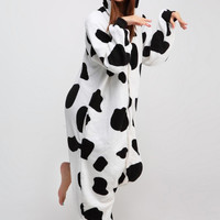Cow Animal Adult Kigurumi Onesuit