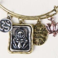 Inner Peace Charms Bangle